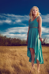 Laney (Jamie M. / jcm-photo.com) Tags: sunset portrait fashion texas dress softbox laney lastolite strobist lumopro cybersync