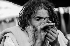 @kumbh (Ray Frames) Tags: portrait blackwhite smoking blacknwhite sadhu kumbhmela kumbh localportrait maghmela mahakumbhmela kumbhindia kumbhmelaphotos kumbhmela2013