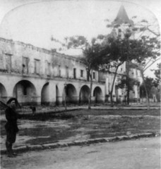 """Aguinaldo's Ruined Headquarters after the American Capture"" -- Malolos, Bulacan, 1899 (Leo Cloma) Tags: photo philippines archive bulacan filipino archival philippine malolos aguinaldo cloma"