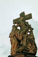 Prague - detail 07 (Katarina 2353) Tags: city statue photography europe christ prague religion prag praha czechrepublic evropa ceska katarina2353