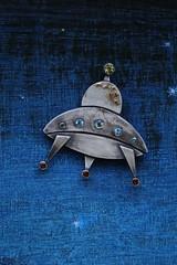 """Brooch """"UFO"""" (vikafogallery) Tags:"""
