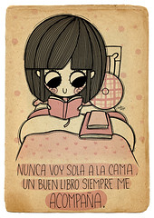 A la cama (Anita Mejia) Tags: pink cute girl illustration pen ink cat reading sketch cartoon kitty books seuss read doodle kawaii vacaciones comicdiary chocolatita anitamejia