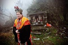 Daoist Priest (Leonid Plotkin) Tags: china religious asia traditional religion sacred tradition dao tao daoist hunan taoism daoism holymountain sacredmountain