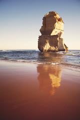 Gibson's Beach (Leighton Wallis) Tags: reflection water rock sand surf waves australia victoria stack limestone vic greatoceanroad twelveapostles 12apostles gibsonssteps gibsonsbeach