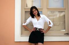 Katia Venia (Vanderlei Gomes Fotografia :-]) Tags: parque brazil woman girl rock brasil avenida model dress mulher centro modelo teen roll garota paulo menina so morena paulista brunet rockeira parquing
