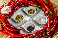 Chilli Sauce Deconstructed (nils.rohwer) Tags: chilli sauce seeds nikon