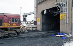 66119 at Daw Mill (robmcrorie) Tags: mill train closed rail railway loco trains end locomotive enthusiast coal furnace railways railfan warwickshire daw closure colliery