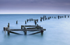 Old Swanage Pier (JamboEastbourne) Tags: old england pier wooden big long exposure lee dorset rotten swanage stopper