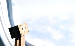 Danbo loves clouds! (Kumo~Milk^^) Tags: toy doll danbo
