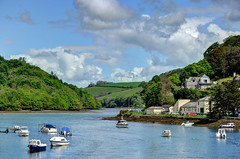 The East Looe River, Cornwall (Baz Richardson (trying to catch up!)) Tags: looerivervalley eastlooeriver rivers looeriver woods hillsides cornwall looe