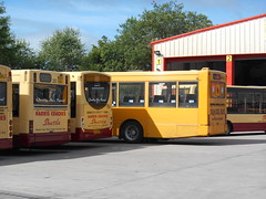 Harris Coaches 30, 04 and 17 (Welsh Bus 18) Tags: verde 30 volvo pointer 04 17 dennis dart adl slf 613 quantock plaxton oxfordbuscompany enviro200 aberbargoed b10b58 harriscoaches gogoodwins n613fjo wsv552 gu52hao wa10lho