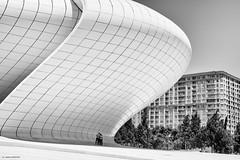 Heydar Aliyev Center (Laszlo Horvath 1M+ views tx :)) Tags: minimalism baku heydar aliyev center nikon building architech architechture nikond7100 sigma1835mmf18art