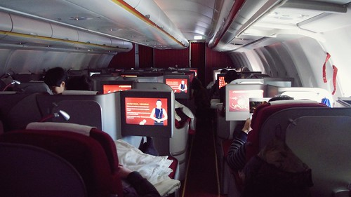 Onboard A330-300 Domestic First Class - Hainan Airlines