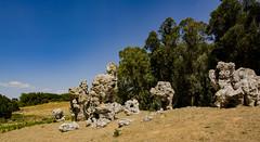 Pupi ballerini a Rossomanno (VincenzoGuasta) Tags: pupi ballerini rossomanno pietre stones sicilia sicily piazza armerina riserva naturale orientata di grottascura