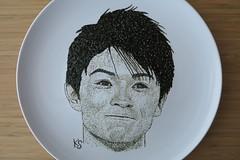 kohei uchimura close up (pedalstrike) Tags: goat koheiuchimura nori seaweed foodart gymnast japanese rio2016