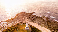Norah Heads (Jay Daley) Tags: norah heads lighthouse dji inspire 1 pro x5 drone aerial sunrise nsw australia