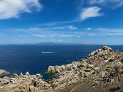 Capo Testa (DeclivePapillon) Tags: capo testa santa teresa gallura corsica mare summer estate sun yacht cloud