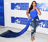 Actress Dascha Polanco attends the 2016 MTV Video Music Awards on August 28, 2016 at Madison Square Garden in New York. / AFP / Angela Weiss (Photo credit should read ANGELA WEISS/AFP/Getty Images)