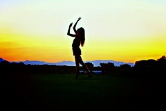 IMG_7561r (angel.555825) Tags: silhouette beauty sunset girl summer