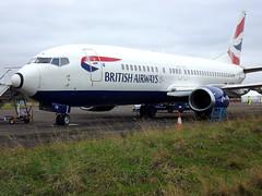 British Airways B737-400 (captain_flynn23) Tags: cranfieldat70 ba baw britishairways cranfield cranfieldairport egtc boeing bedfordshire uk england avgeek pilotlife aircraft airplane b737 b734