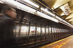 New York Subway (juliekrugerart) Tags: to do trail girl julie kruger photography new york manhattan motion hustle bustle nikon d810 metropolitan museum brooklyn bridge grand central station taxis world trade center subway