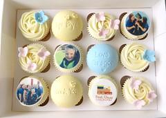 Gregors Graduation Cupcakes (A Cherry On Top Scotland) Tags: cherryontop fife cupcakes celebratorycupcakes cakes celebratory vowswinner clairesara burntisland babyshower birthday corportate edibleprints spider goodbye wedding goldwedding