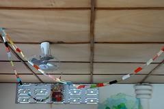 DSC05208 (noémiegirardet) Tags: plafond couleurs colorful school africa afrique bénin casa grande orphelina