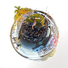 Spent the day shooting tutorials and test footage with the Theta S, Insta360 Nano and Kodak PixPro SP360. Can you guess which one this photo was taken with?  (LIFE in 360) Tags: lifein360 theta360 tinyplanet theta livingplanetapp tinyplanetbuff 360camera littleplanet stereographic rollworld tinyplanets tinyplanetspro photosphere 360panorama rollworldapp panorama360 ricohtheta360 smallplanet spherical thetas 360cam ricohthetas ricohtheta virtualreality 360photography tinyplanetfx 360photo 360video 360