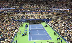 US-Open-2016-8 (fabergtourexperience) Tags: usopen tennis new york usa arthur ashe stadium stanislaswawrinka stan wawrinka novakdjokovic djokovic experience sporting events sunset sunny day