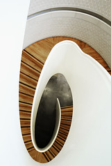 Caramel Swirl (mcb photography) Tags: staircase stair step curve shape newportstreet newportstreetgalley architecture mikebarber mcbphotography london uk swirl