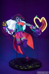 Blacklight Ranka (neilcreek) Tags: blacklight uv glow anime figurine macross ranka rankalee macrossfrontier cute