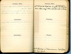 Diary of Robert Wallace p.27 (Community Archives of Belleville & Hastings County) Tags: 1880s 1890s 1900s 1910s 1920s diaries homechildren