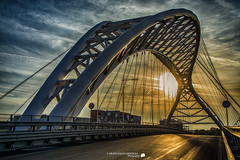 The bridge at sunset (Francesco Grisolia) Tags: thebridgeatsunset roma rome ilpontealtramonto ponte tramonto italia italy urban landscape city citt street nikon nikoneurope nikonitalia europe 2016 highquality highdefinition hq photo flickr foto panorama paesaggio urbanlandscape colors sun sunset luci lights strada view d7100 nikond7100 nikonclub nikonclubit beautiful colori moments 2470mm lens settembre iamnikon sunsetsea