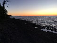 Lake Superior sunset (thechelseagrin) Tags: upperpeninsula michigan sunsetbay keweenawpeninsula nature lakesuperior