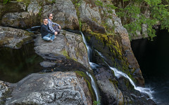 NS-16-168 (schmikeymikey1) Tags: carl friend longexposure people plants style trees water waterfall