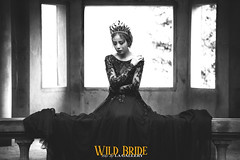 WILD BRIDE (La Gallery Studio) Tags: body art more sun derect hot model hody white black bw vintage blend retouching end high bikini professional new elle happer bazza teen girl gril flare flash light 2015 color le like nude fashion beauty wedding album pre chn dung ngi