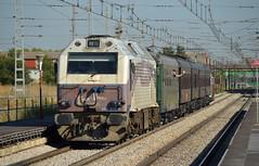 El Tren de la Fresa (AlvaroArrans) Tags: 333407 tren de la fresa getafe madrid aranjuez