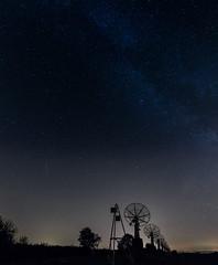 Listening to stars (k.tusnio) Tags: antena abandoned sky mily way stars night samyang 14mm nikon d5100