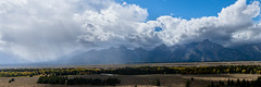 Grand Tetons with a storm (solowookie1791) Tags: landscape grandtetons clouds
