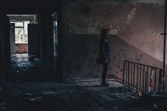 ghost (alexander,v) Tags: lost girl hat abandoned house darkness latvia skrunda