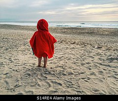 Photo accepted by Stockimo (vanya.bovajo) Tags: stockimo iphonegraphy iphone toddler beach summer sea kid child vacation holiday rear view caucasian alone lost european french childhood 2 years old ocean