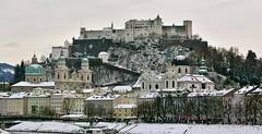 Salzburg (troutwerks) Tags: snow salzburg castle austria sterreich weihnachtsmarkt mozart schnitzel areallygoodtime hohensalzburg thesoundofmusic adent withpatmeister
