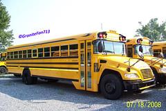 2009 Blue Bird Vision (Trucks, Buses, & Trains by granitefan713) Tags: bus vision bluebird schoolbus bluebirdvision