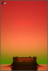 Reggae Reggae (bb-pictures.com) Tags: macro water canon eos lights drops wasser bokeh flash 100mm splash waterdrops makro waterdroplets tropfen watersplash flashes spiegelungen 600d mirrows tropfenfotografie canoneos600d