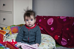 Punk (Ramocchia) Tags: childhood punk alice newborn poco 113 6mesi pezzettino neonato infanzia ramocchia convinta dhj