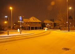 Chelmsford, Widford Road (Stuart Axe) Tags: city uk greatbritain winter england white snow storm cold ice weather night frost unitedkingdom snowstorm nighttime gb blizzard essex winterstorm chelmsford bigfreeze countytown thebigfreeze countyofessex cityofchelmsford widfordroad