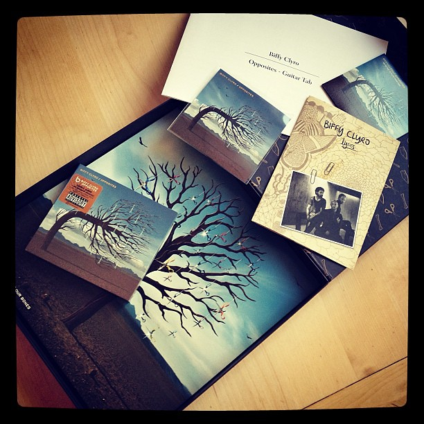 New Biffy Clyro - Opposites - Limited Edition Boxset