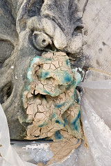 Gargouille avec cataplasme/Poultice on Peace Tower Gargoyle (Public Services and Procurement Canada) Tags: ontario canada ottawa gargoyle parliamenthill peacetower pwgsc