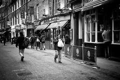 Firecracker (stephen cosh) Tags: life street city england people blackandwhite bw london sepia mono town candid streetphotography rangefinder reallife humancondition blackandwhitephotos 50mmsummilux blackwhitephotos leicam9 stephencosh leicammonochrom leicamm