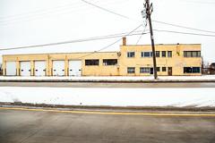 Abandoned Building - Comfort Heating - Illinois (RickDrew) Tags: door windows abandoned wall office illinois rust closed factory garage bricks dirty il warehouse economy heating outofbusiness urbex 3370